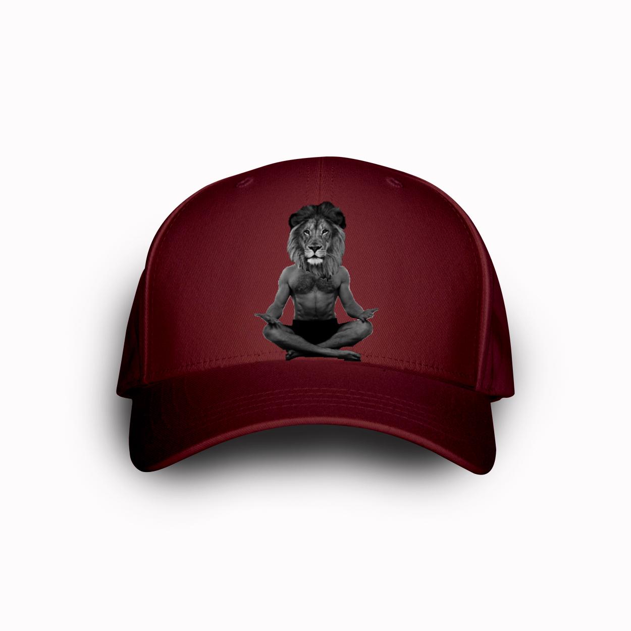 yoga lion hat
